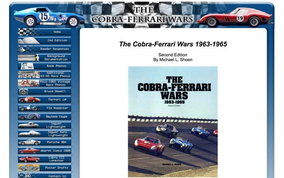 Cobra Ferrari wars book