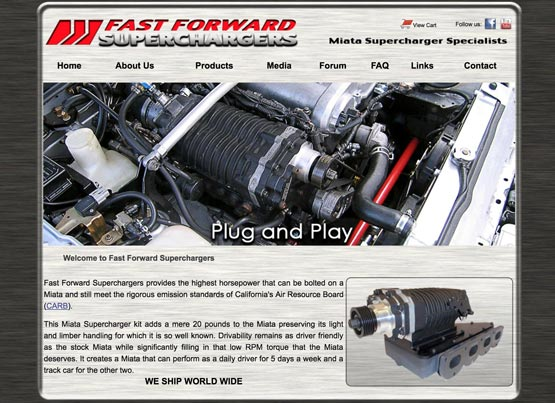 Miata supercharger kit