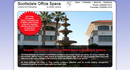 Scottsdale office Space